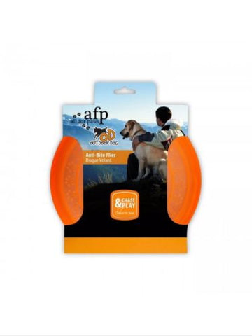 All For Paws AFP Outdoor Dog Anti Bite Durable Frisbee Fetch Flier Outdoor Toy, Toys - Millie and Masons Pet Shop