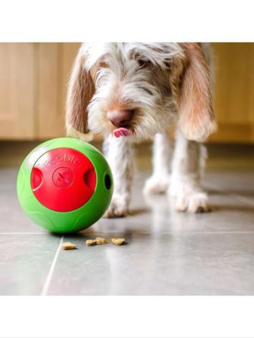 FOOBLER Electronic Interactive Timed Dog Treat Dispenser Ball Toy - LARGE, Toys - Millie and Masons Pet Shop