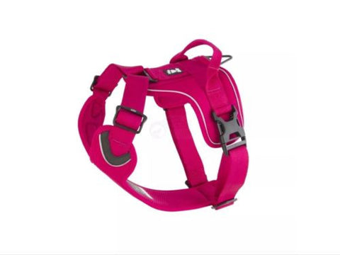 Hurtta Padded Outdoor Active Dog Harness 40 - 45 Cm Cherry Pink Colour, Harnesses - Millie and Masons Pet Shop