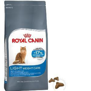 royal canin feline cat light weight care dry food.