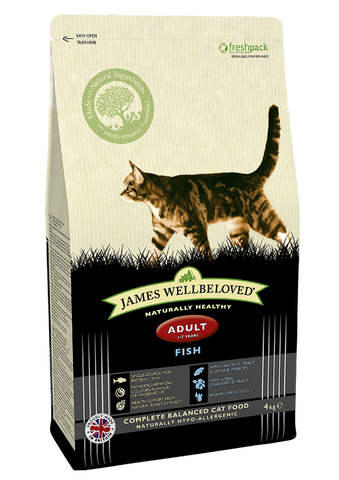 James Wellbeloved cat food fish and rice, from Millie and Mason's pet shop, Horbury, Wakefield.