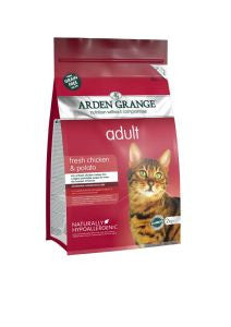 Arden Grange Adult Cat Food Chicken, from Millie and Mason's pet shop, Horbury, Wakefield.