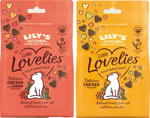 Lily's Kitchen little lovelies cat treats, Millie and Mason's pet shop, wakefield