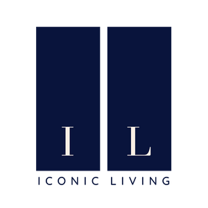 iconic living logo