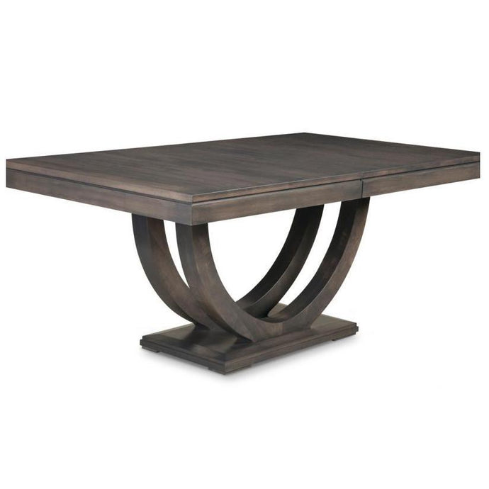 CONTEMPO WOOD PEDESTAL DINING TABLE