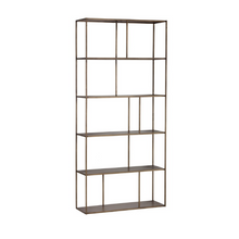 Load image into Gallery viewer, EIFFEL BOOKCASE - ANTIQUE BRASS - LARGE