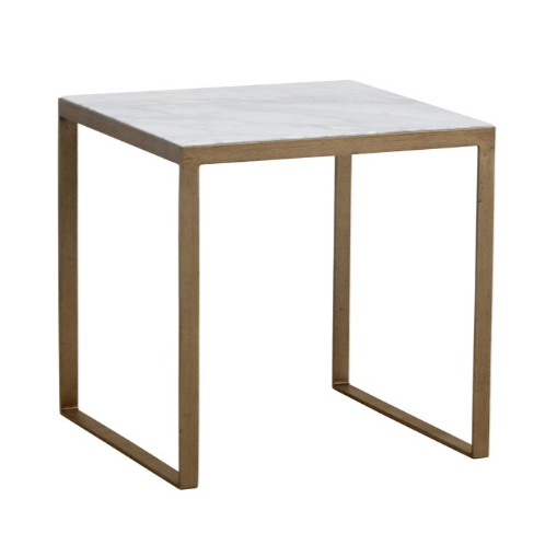 EVERT END TABLE - WHITE