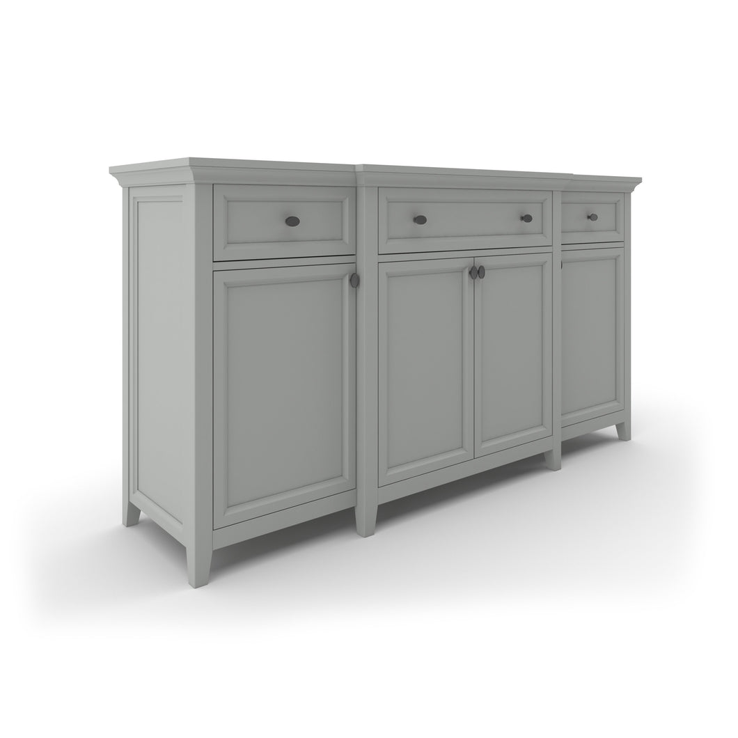 Hampton – Sideboard, 71″w, Breakfront