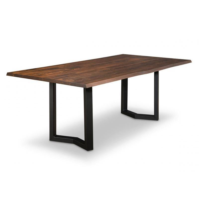 PEMBERTON LIVE EDGE DINING TABLE