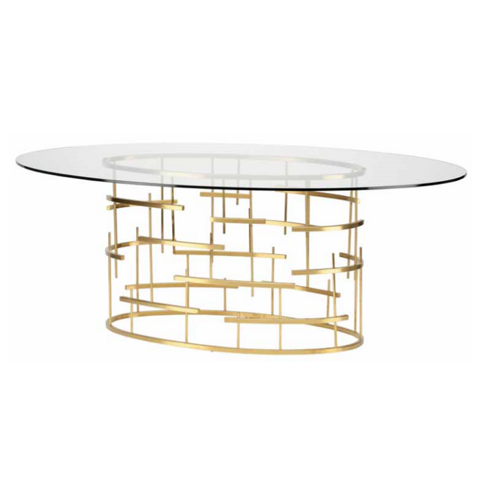 TIFFANY OVAL DINING TABLE