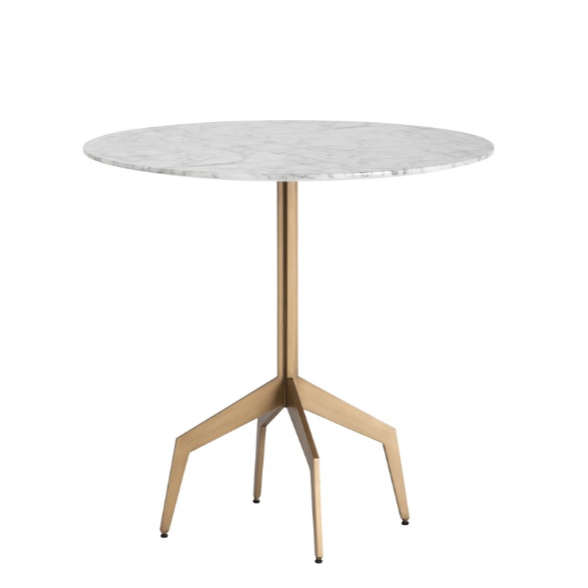 RICHART BISTRO TABLE - MARBLE LOOK - 31.5