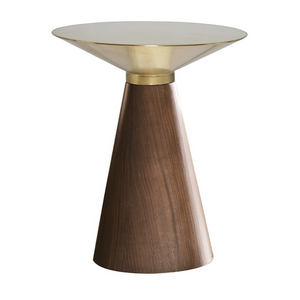 IRIS GOLD SIDE TABLE