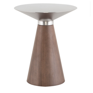 IRIS SILVER SIDE TABLE