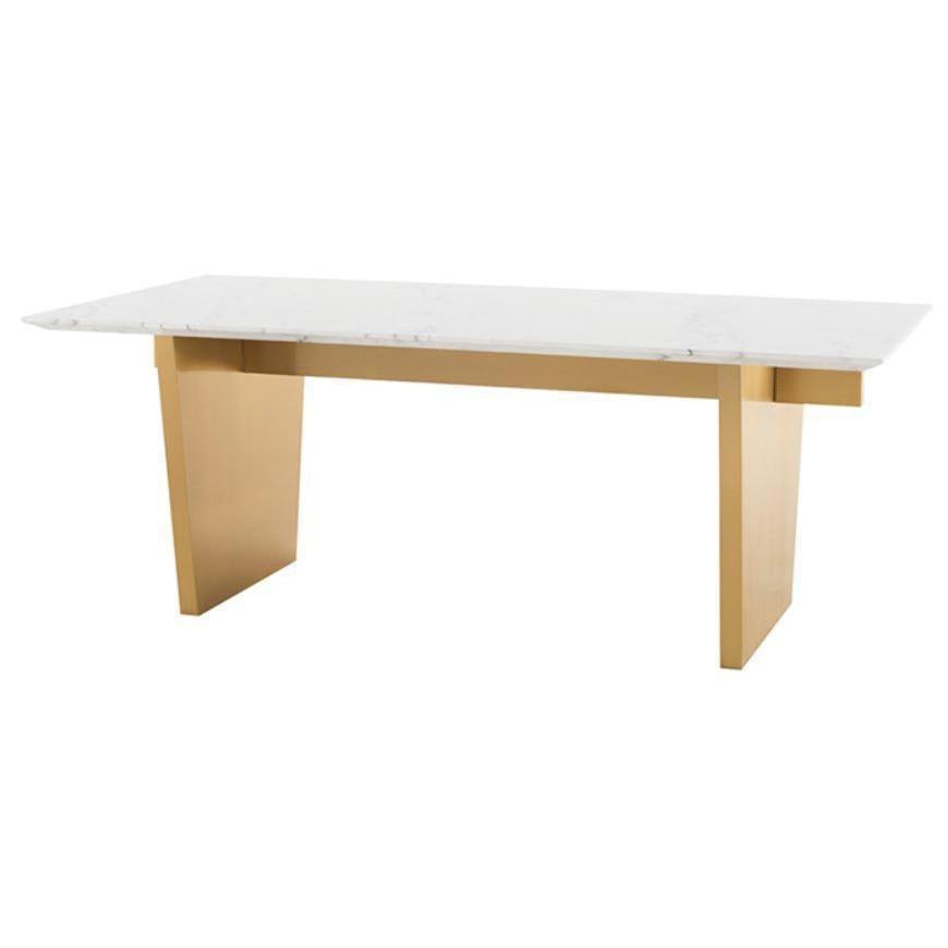 AIDEN MARBLE DINING TABLE