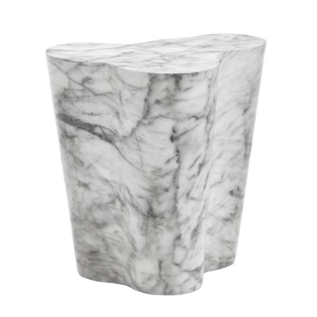 AVA END TABLE - SMALL - MARBLE LOOK