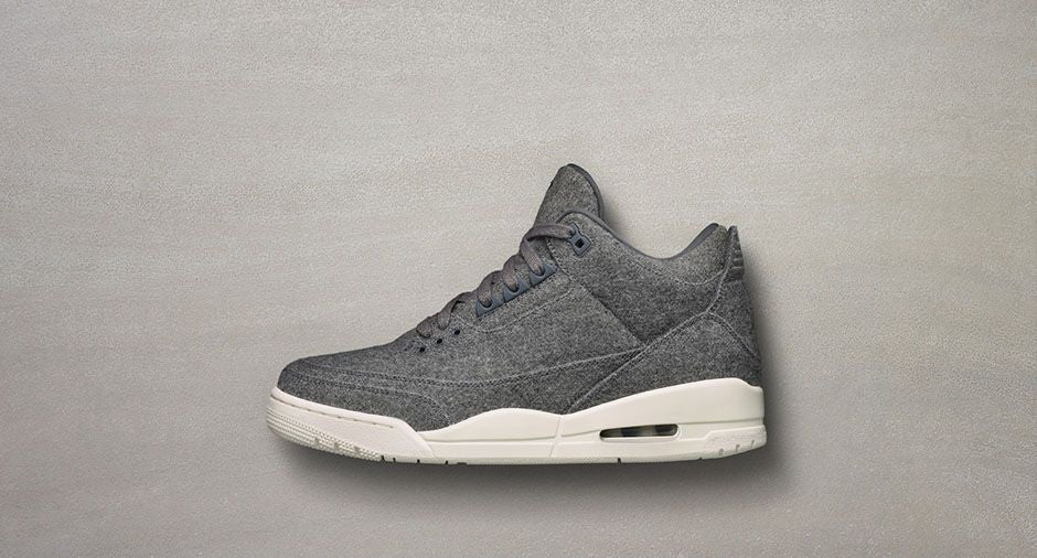 AIR JORDAN 3 RETRO 'DARK GREY'