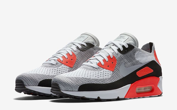 7d450b7d4d71e ... Air Max 90 Ultra 2.0 Flyknit in the beloved  Infrared  colourway. Look  for these to release in both men s and women s sizing this Thursday March  2nd at ...