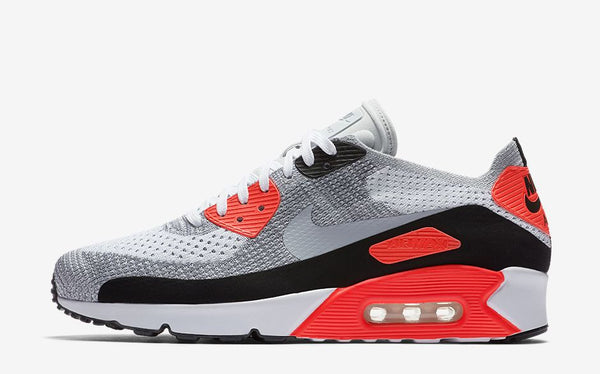 best sneakers e0d98 70ae9 ... Air Max 90 Ultra 2.0 Flyknit in the beloved  Infrared  colourway. Look  for these to release in both men s and women s sizing this Thursday March  2nd at ...
