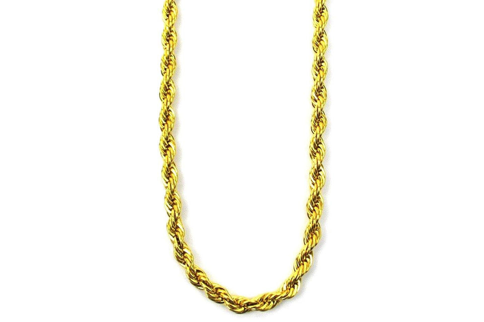 "4MM 28"" Rope Chain - GRO4MMC28"