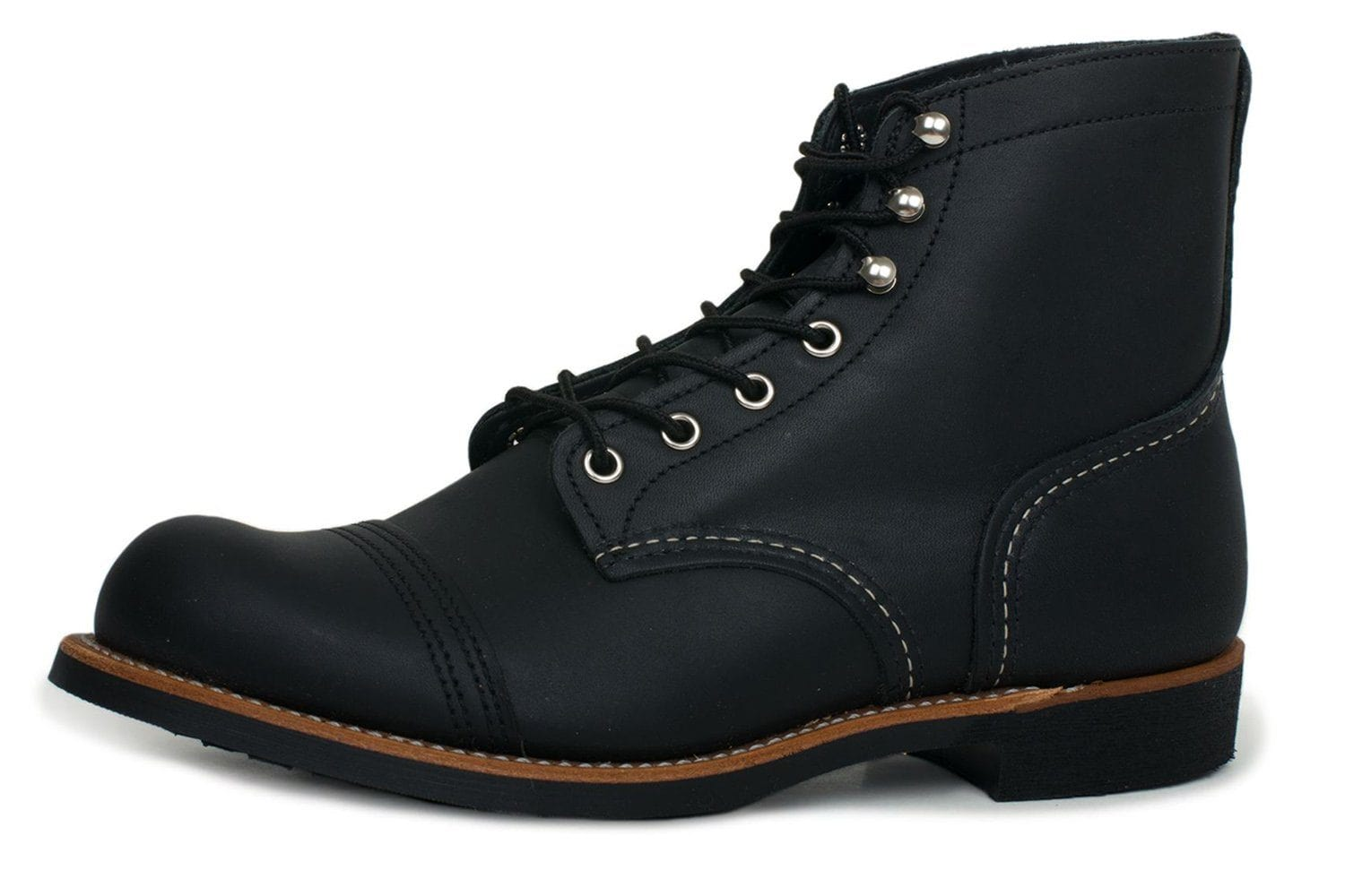 IRON RANGER BLACK HARNESS-08084 MENS FOOTWEAR RED WING SHOES