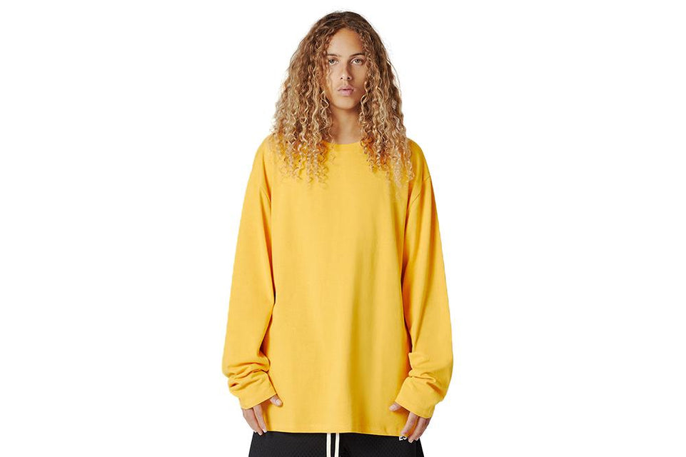 FOG ESSENTIALS BOXY GRAPHIC LS TEE MENS SOFTGOODS FEAR OF GOD