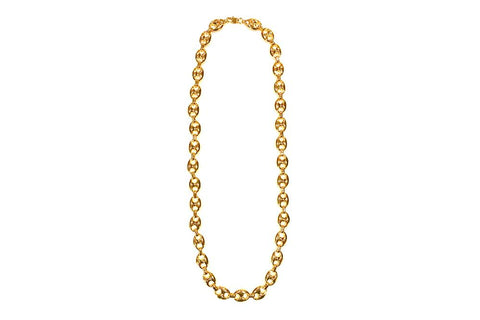 GOOCHI LINK NECKLACE JEWELRY GOLDEN GILT