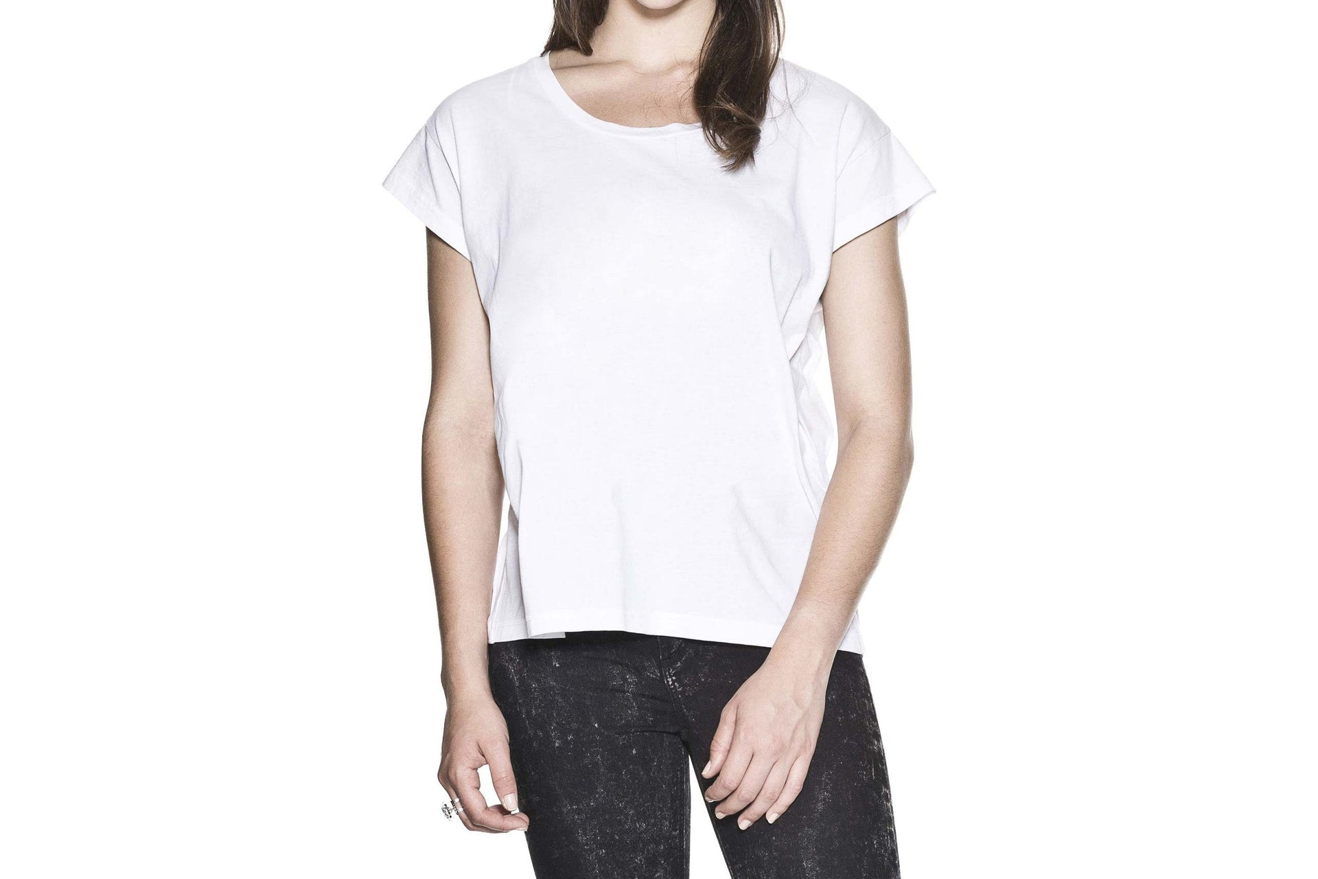 HAVE TEE WOMENS SOFTGOODS CHEAP MONDAY WHITE M