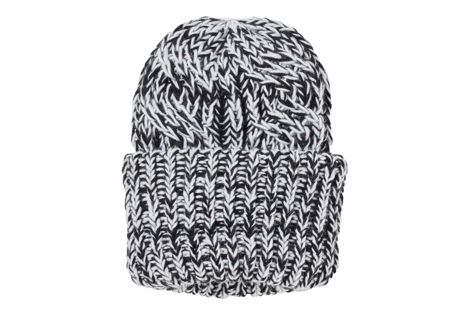 WIRED UP BEANIE WOMENS ACCESSORIES CHEAP MONDAY SALT & PEPPER ONE SIZE