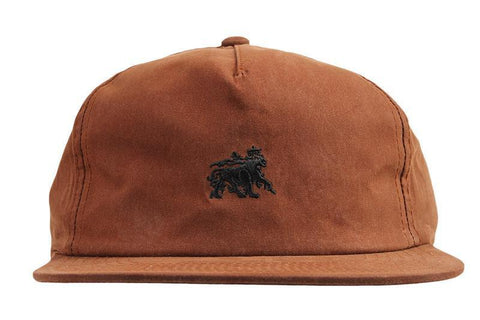 WAX COTTON STRAPBACK CAP