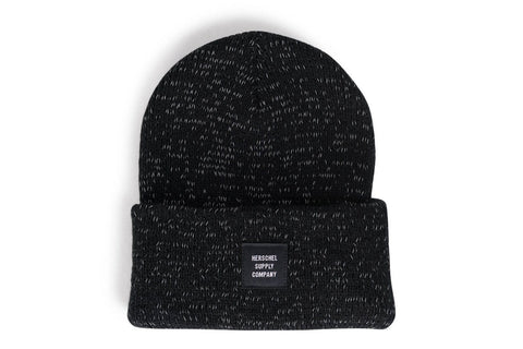 ABBOTT REFLECTIVE HATS HERSCHEL BLACK OS