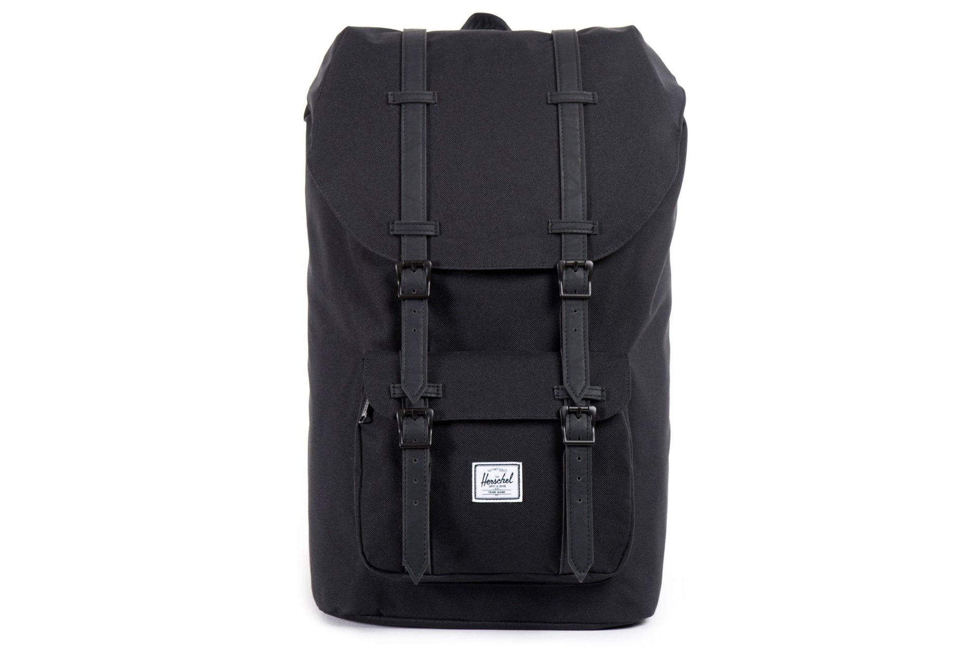 LITTLE AMERICA 600D POLY BAGS HERSCHEL BLACK BLACK SL ONE SIZE