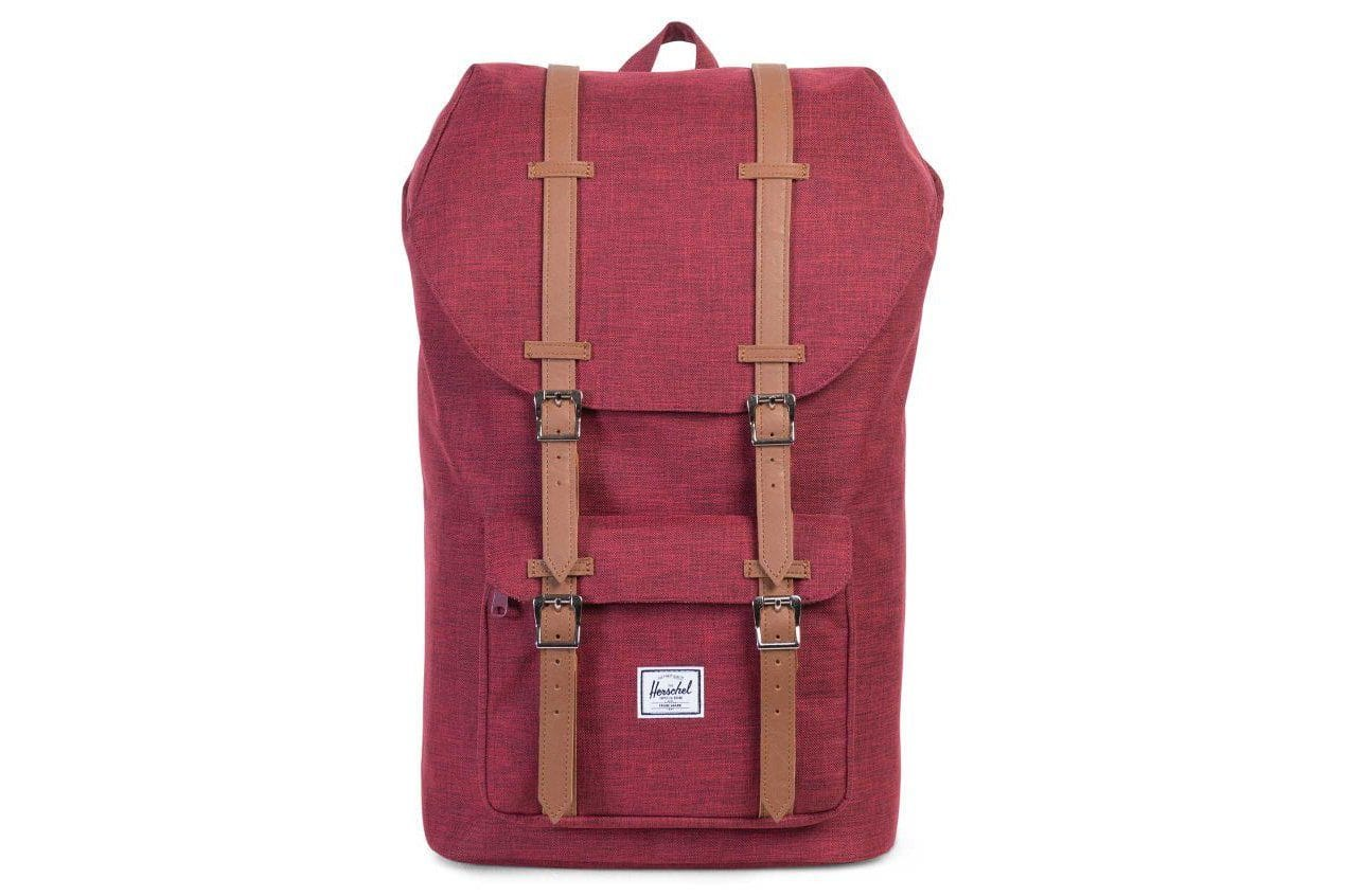 LITTLE AMERICA 600D POLY BAGS HERSCHEL WINE X ONE SIZE