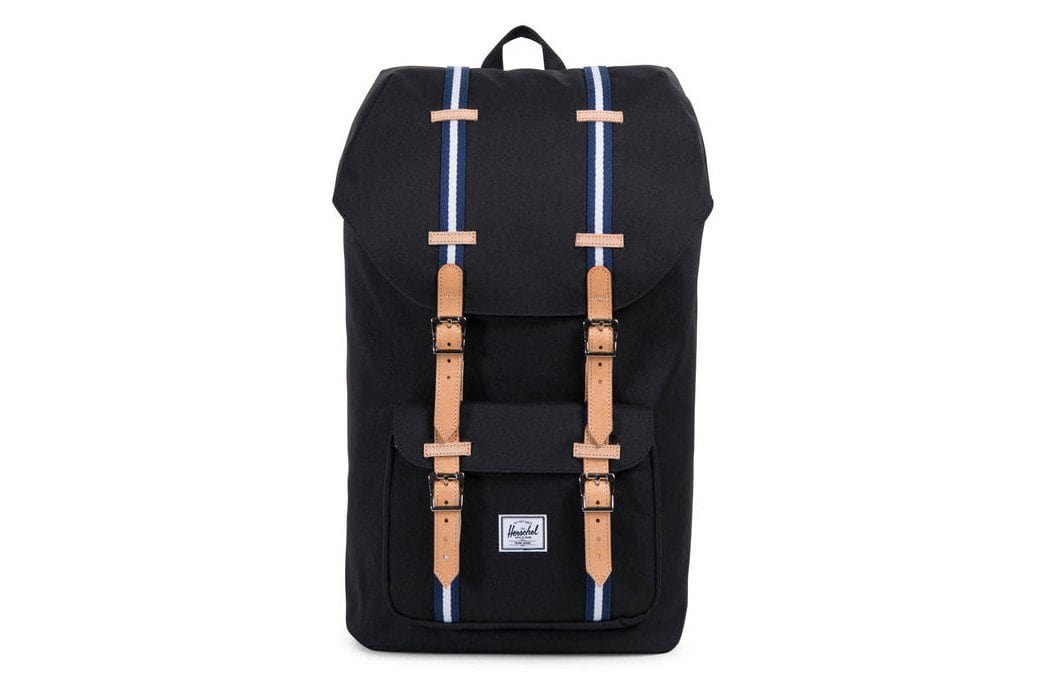 LITTLE AMERICA 600D POLY BAGS HERSCHEL BLK / BLUEP ONE SIZE