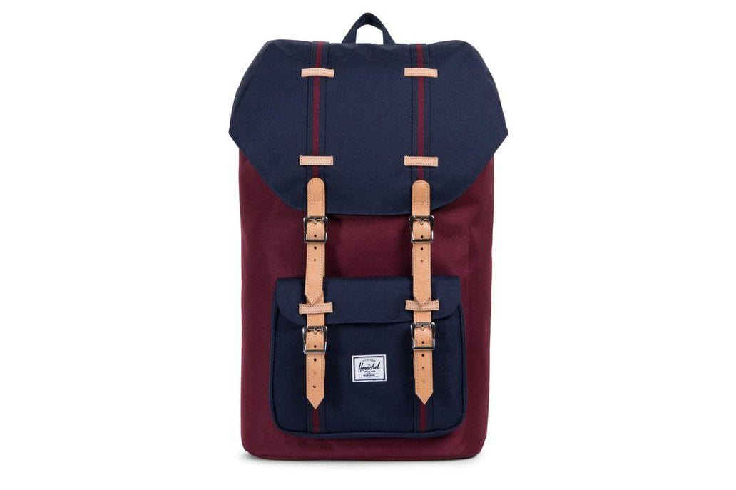 LITTLE AMERICA 600D POLY BAGS HERSCHEL W WIN/P ONE SIZE