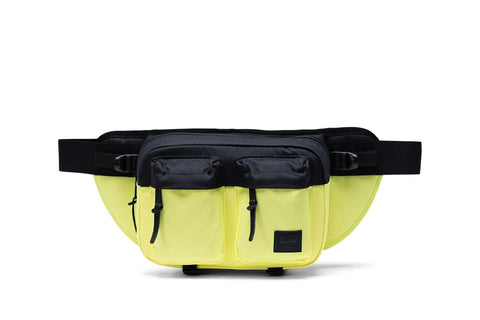 Herschel Eighteen waistbag in neon and black