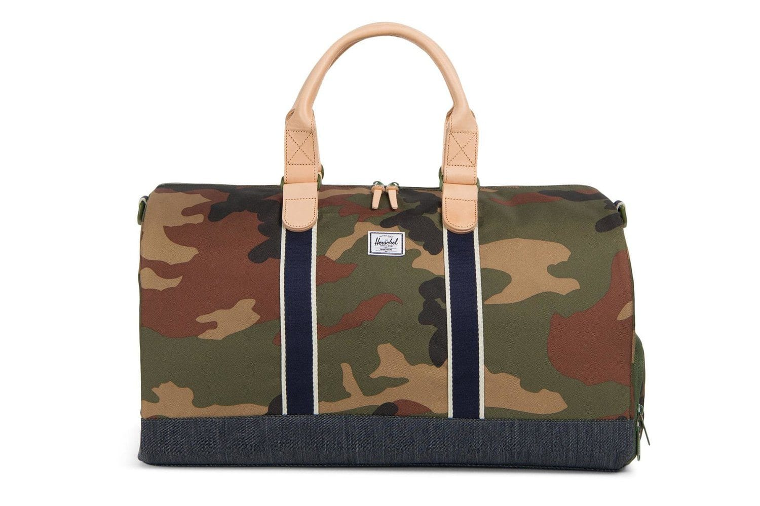 NOVEL 600D POLY BAGS HERSCHEL CAMO/ DENIM OS