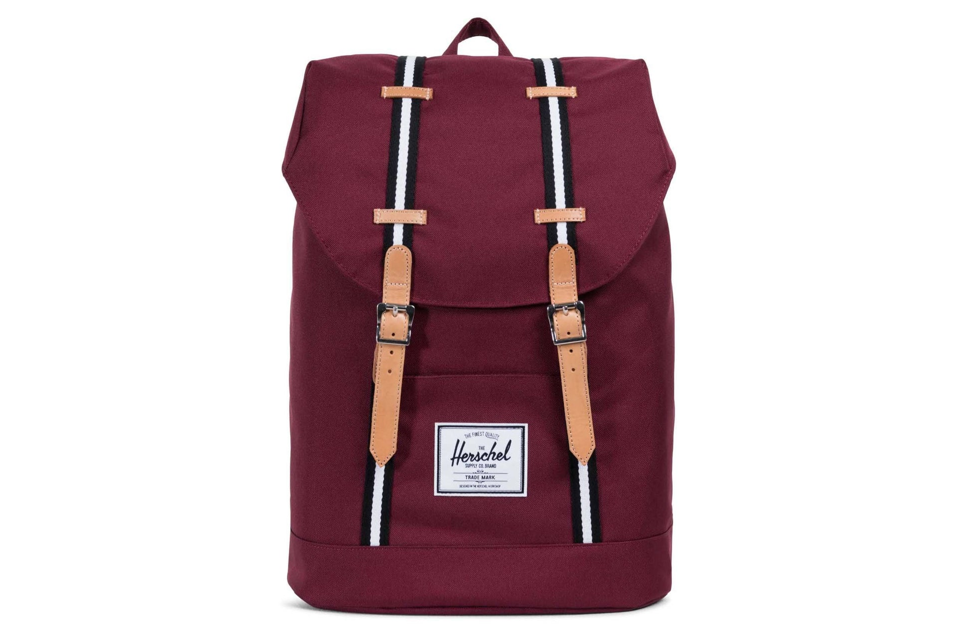 RETREAT OFFSET POLY BAGS HERSCHEL WINDSOR WINE ONE SIZE