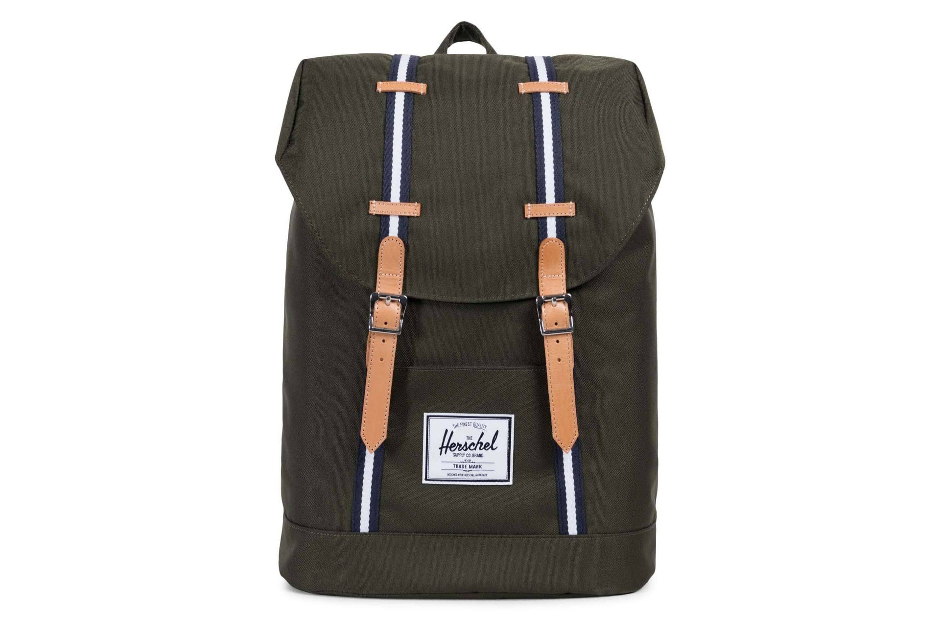 RETREAT OFFSET POLY BAGS HERSCHEL FOREST GREEN ONE SIZE