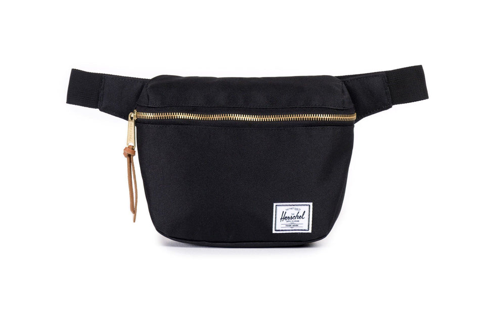 FIFTEEN 600D POLY WAISTBAGS HERSCHEL BLACK O/S 10215-00001