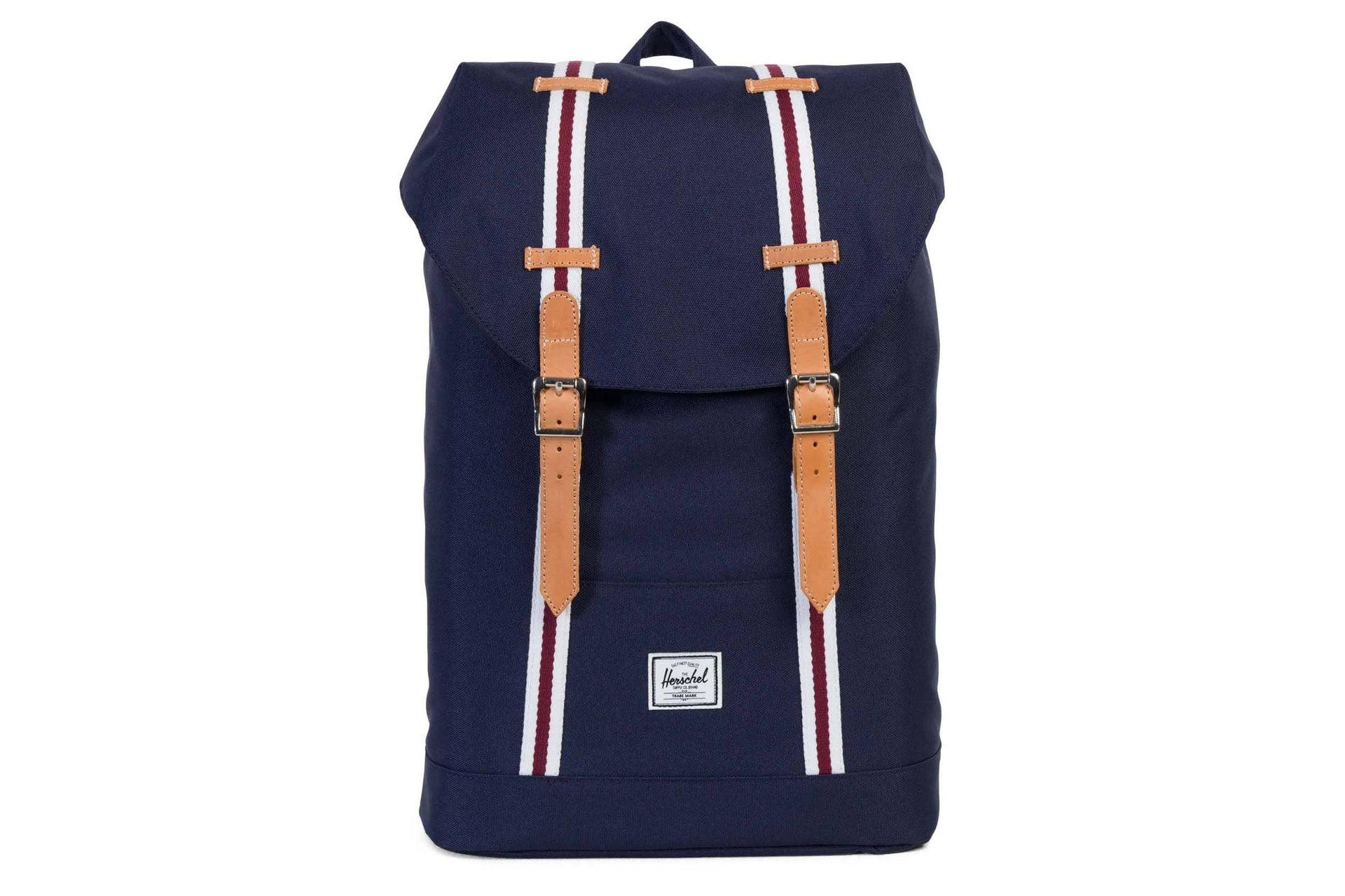 RETREAT OFFSET POLY BAGS HERSCHEL PEACOAT/WHITE ONE SIZE