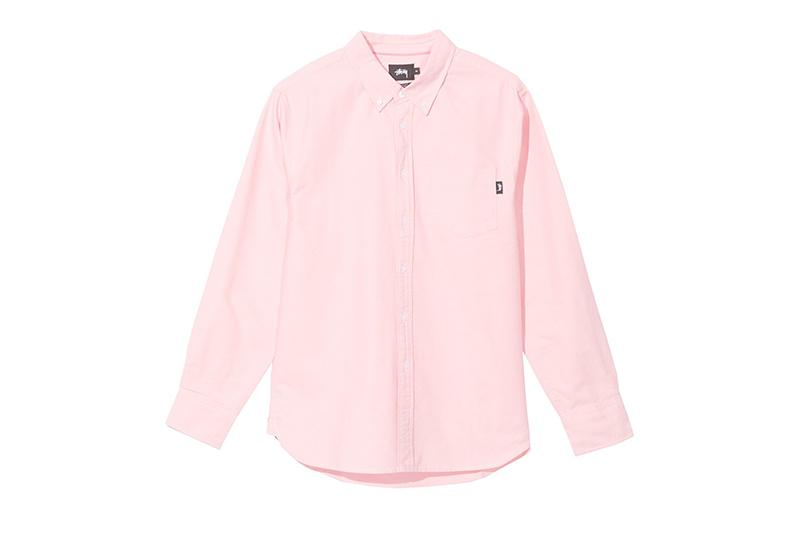 FRANK OXFORD LS SHIRT - 111964 MENS SOFTGOODS STUSSY