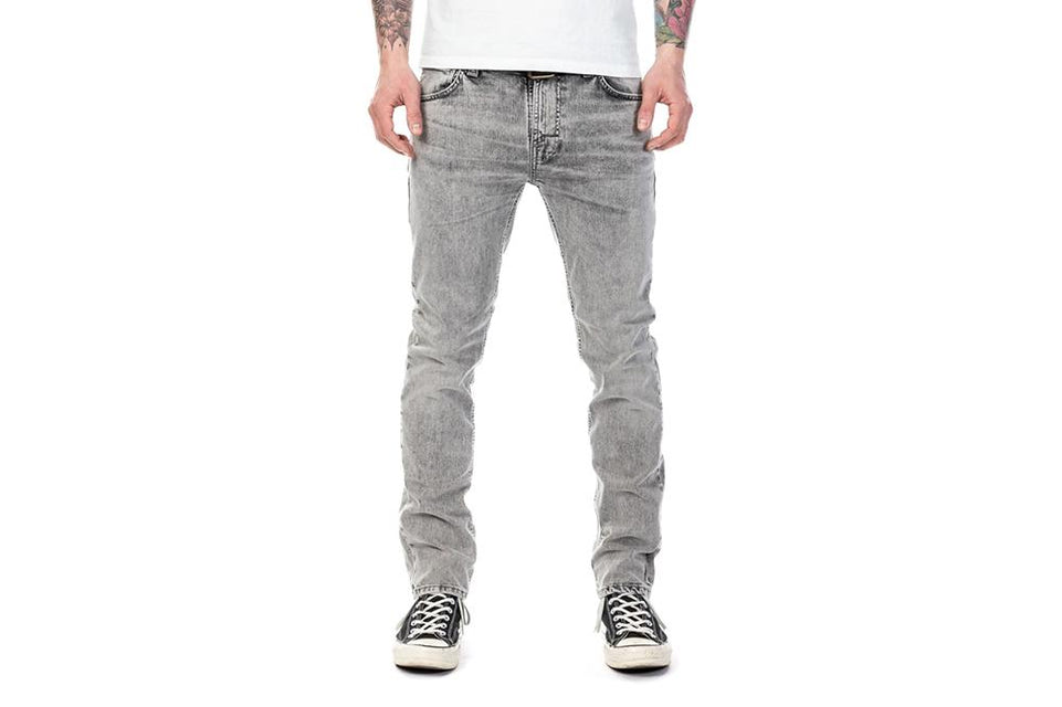 THIN FINN GREY SHADES - 113008 MENS SOFTGOODS NUDIE JEANS
