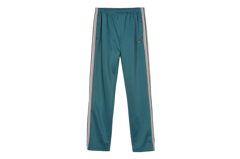 TEXTURED RIB TRACK PANT - 116355 MENS SOFTGOODS STUSSY DARK TEAL S