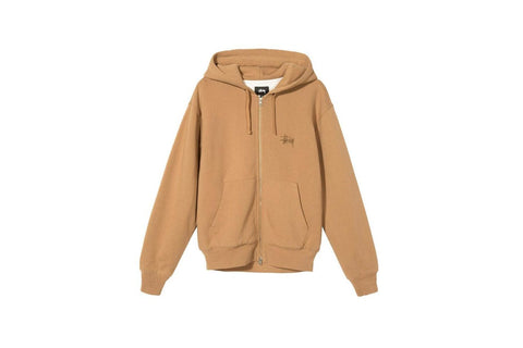 THERMAL ZIP HOODIE - 118385 MENS SOFTGOODS STUSSY