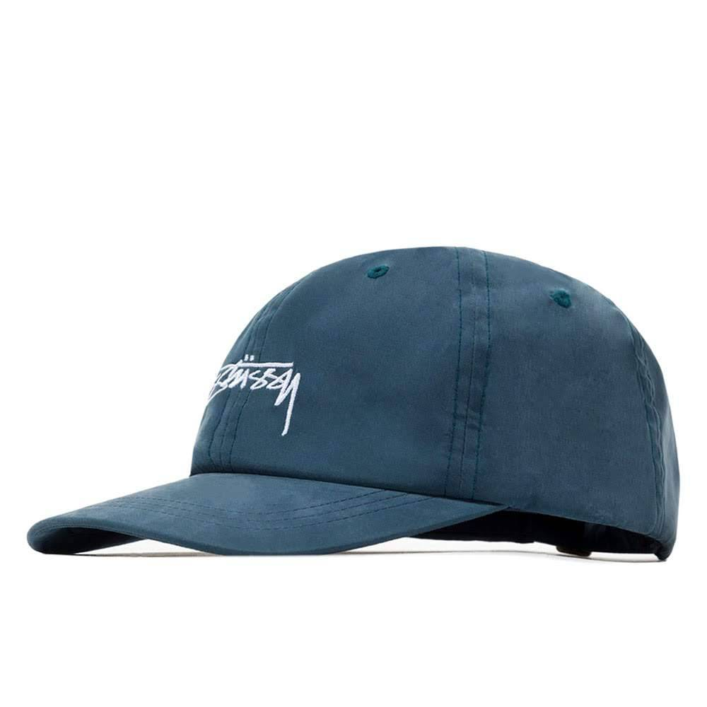 PEACHED SMOOTH STOCK LOW CAP - 131832 HATS STUSSY BLUE ONE SIZE