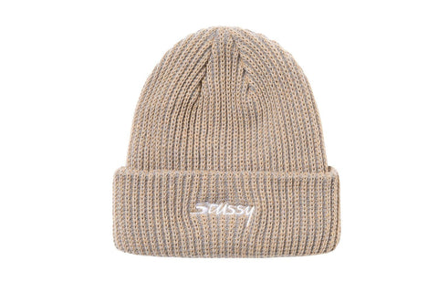 2 TONE KNIT SHORT BEANIE - 132987 HATS STUSSY