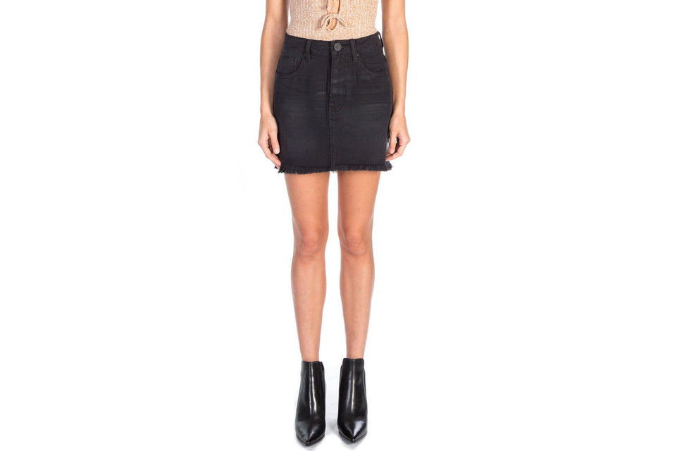 BLACK OAK 2020 MINI SKIRT WOMENS SOFTGOODS ONE TEASPOON black oAK 25