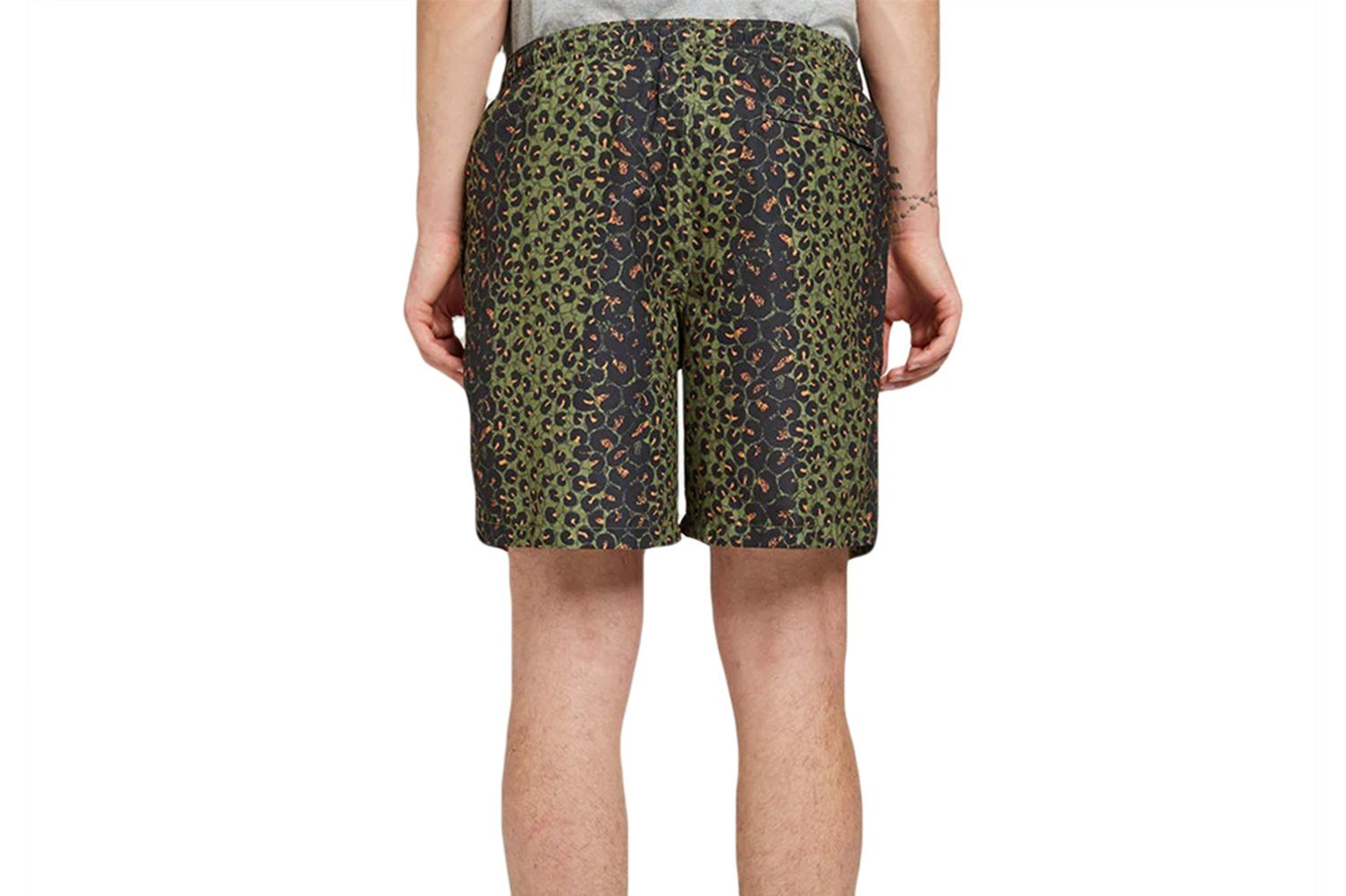LEOPARD WATER SHORT - 113110 MENS SOFTGOODS STUSSY