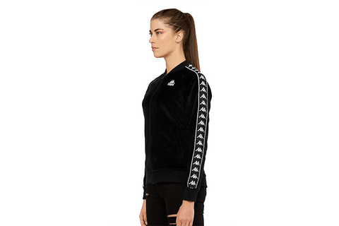 222 BANDA MIVIE VELOUR TRACK JACKET - 303VGU0