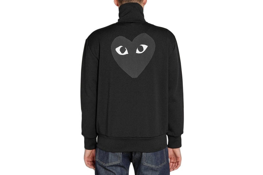 BLACK HEART BLACK ZIP - AZT256 MENS SOFTGOODS COMME DES GARCONS
